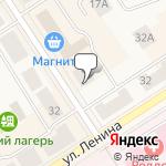 Магазин салютов Североуральск- расположение пункта самовывоза