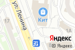 Схема проезда до компании СтройИнвест в Первоуральске