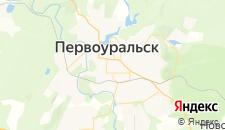 Гостиницы города Первоуральск на карте
