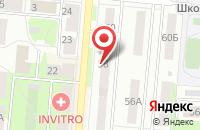 Схема проезда до компании Техресурс в Первоуральске