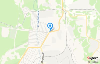 Местоположение на карте пункта техосмотра по адресу Свердловская обл, г Североуральск, ул Рудничная, д 31