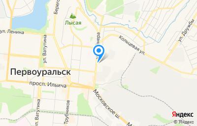 Местоположение на карте пункта техосмотра по адресу Свердловская обл, г Первоуральск, ул Вайнера, д 20