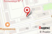 Схема проезда до компании Сады России в Нижнем Тагиле