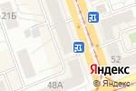 Схема проезда до компании Интерфейс в Нижнем Тагиле