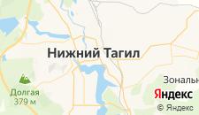 Гостиницы города Нижний Тагил на карте