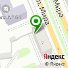 Местоположение компании Новация