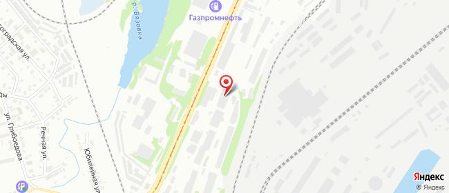 Карта расположения пункта доставки DPD Pickup в городе Нижний Тагил