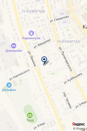 БАССЕЙН на карте Карпинска