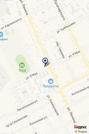 МАГАЗИН АНГЕЛИНА на карте Карпинска