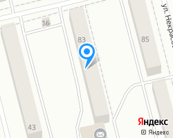 Схема местоположения почтового отделения 624933