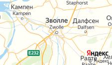 Отели города Зволле на карте
