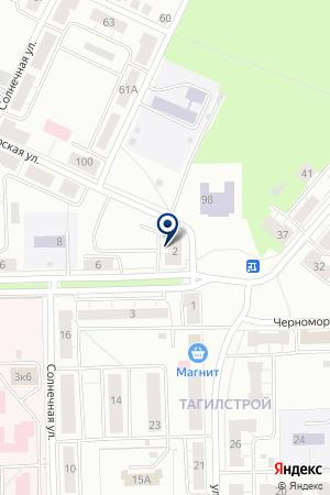 Участковый пункт полиции, Отдел полиции №19 на карте Нижнего Тагила