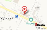 Схема проезда до компании Отдел по управлению Черновским территориальным округом г. Миасса в Смородинке