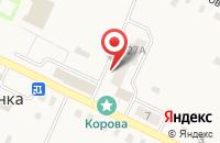 Схема проезда до компании Черновской хлеб в Смородинке