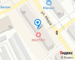 Схема местоположения почтового отделения 624936