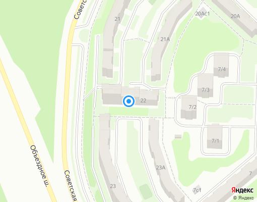 Товарищество собственников жилья «НАДЕЖДА» на карте Новоуральска