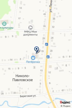 Магазин №5 на карте Николо-Павловского