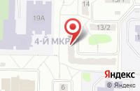 Схема проезда до компании Ю-Пресс в Новоуральске