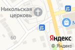 Схема проезда до компании Киоск по продаже хлебобулочных изделий в Николо-Павловском