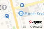 Схема проезда до компании Монетка в Николо-Павловском