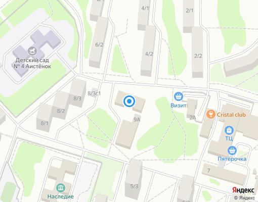 Управляющая компания «Западный район-1» на карте Новоуральска