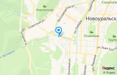 Местоположение на карте пункта техосмотра по адресу Свердловская обл, г Новоуральск, ул Юбилейная, д 11А