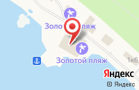 Схема проезда до компании Контакт в Тургояке