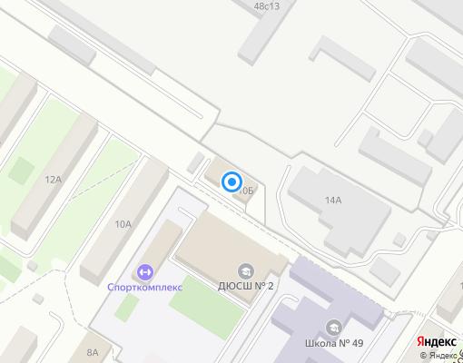 Управляющая компания «БУНАРСКИЙ РАЙОН-1» на карте Новоуральска