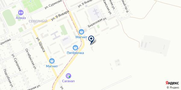Автосервис на карте Нижнем Тагиле