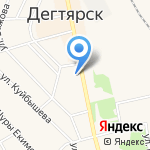 Отдел полиции на карте Дегтярска