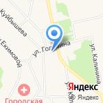 Уралочка на карте Дегтярска