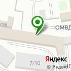 Местоположение компании Вираж-Авто