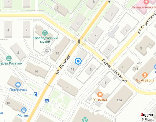Управляющая компания «ДОМЕН» на карте Новоуральска