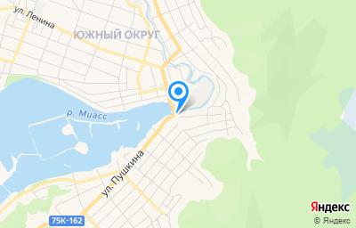 Местоположение на карте пункта техосмотра по адресу Челябинская обл, г Миасс, ул Ремесленная, д 2А