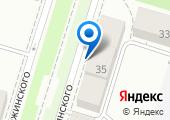 Транском-Урал на карте