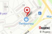 Схема проезда до компании Касьянов и Кураев в Миассе