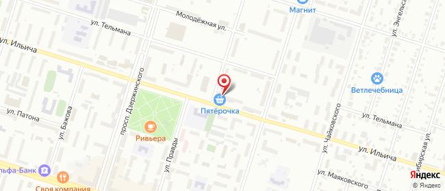 Карта расположения пункта доставки Халва в городе Нижний Тагил