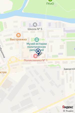 АПТЕКА СОТФАРМ на карте Инты