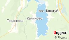Отели города Калиново на карте