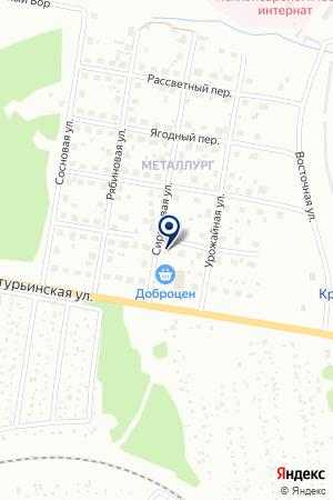 ТОРГОВО-РАЗВЛЕКАТЕЛЬНЫЙ ЦЕНТР MIXX (МИКС) на карте Краснотурьинска
