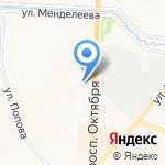 Южно-Уральский научный центр на карте Миасса и Златоуста