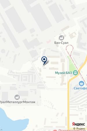 МОТОСАЛОН YAMARAN (ЯМАРАН) на карте Краснотурьинска