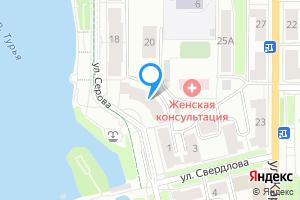 Снять однокомнатную квартиру в Краснотурьинске ул. Серова, 16