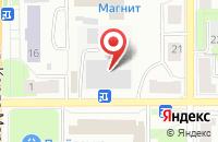 Схема проезда до компании Мясопродукты в Краснотурьинске