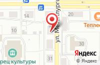 Схема проезда до компании Багира-К в Краснотурьинске