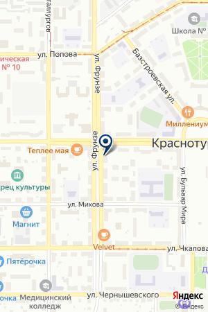 ФИРМЕННЫЙ МАГАЗИН LG (ЭЛ ДЖИ) на карте Краснотурьинска