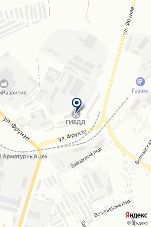 АГЗС СГ-АВТО на карте Краснотурьинска
