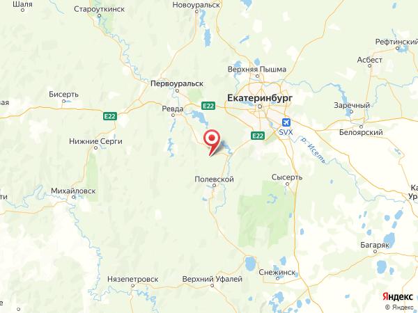 поселок Крылатовский на карте
