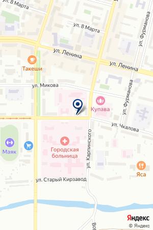 АПТЕКА на карте Краснотурьинска