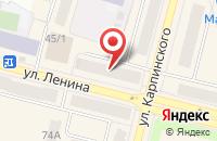 Схема проезда до компании Лиана в Краснотурьинске